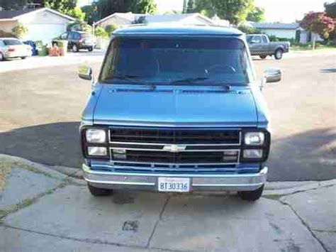 automobile air conditioning repair 1992 chevrolet sportvan g10 security system purchase used 1987 chevy g10 van in north hills california united states