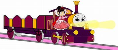Thomas Lady Engine Tank Princess Lamps Vanellope