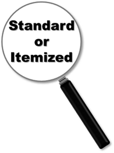 Itemize Taxes or Go With the Standard Deduction? - Char