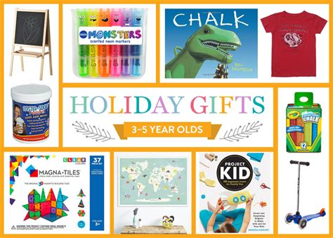 holiday gift guide   year olds brightly
