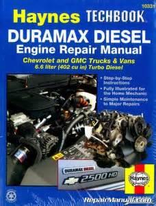 small engine repair manuals free download 2001 gmc yukon xl 2500 windshield wipe control haynes duramax diesel engine techbook for 2001 2012 chevrolet gmc trucks vans 6 6 liter 402 cu