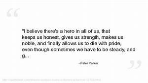 Peter Parker Qu... Peter Parker Father Quotes
