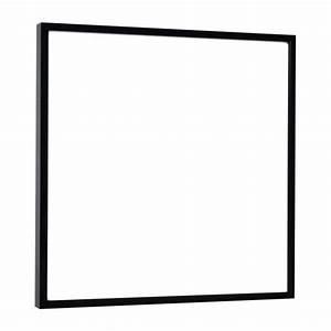 Cadre Photo 50x70 : aluminus cadres muraux noir m tal habitat ~ Teatrodelosmanantiales.com Idées de Décoration