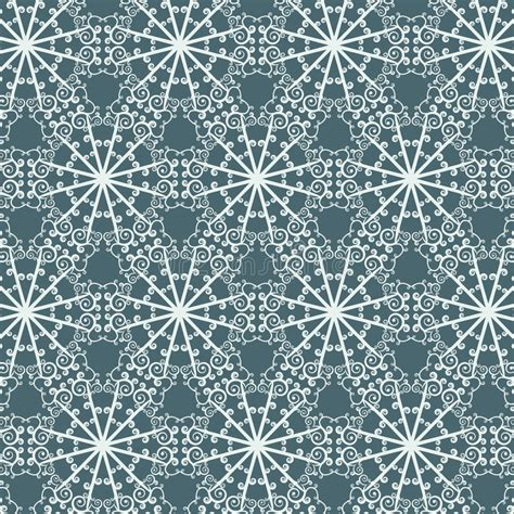 Seamless Abstract Pattern Technology Luminous Electric Circuit On A Dark Blue Background Stock