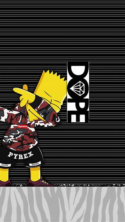 Iphone Dope Supreme Wallpapers Bape Backgrounds Simpsons