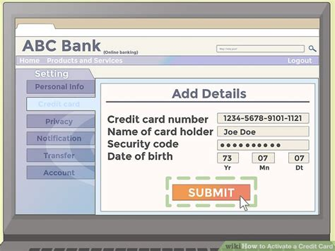 Tap the cash card tab on your cash app home screen. How to Activate a Credit Card: 11 Steps (with Pictures) - wikiHow
