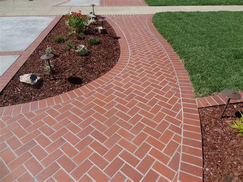 brick sidewalk herringbone brick sidewalk outdoor ideas pinterest