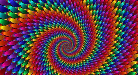 Amazing Rainbow Fractal Art Eyesofodysseus