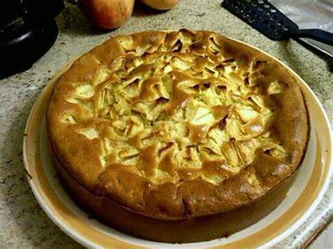 recette de gateau au yaourt avec des pommes