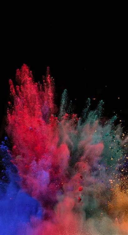 Powder Blast Explosion Iphone Background Note Galaxy