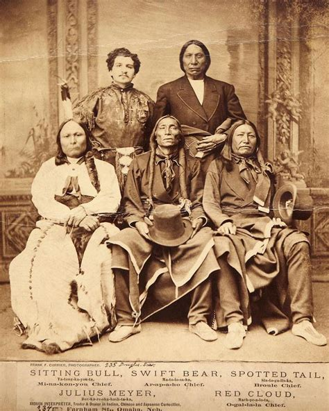 photograph  chiefs red cloud oglala sioux