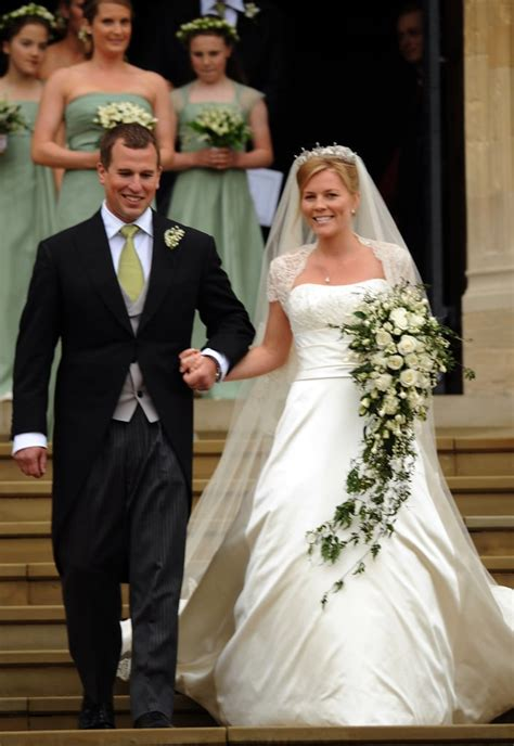 The signs that their 11 year marriage was on the rocks. Peter Phillips and Autumn Kelly | British Royal Wedding ...