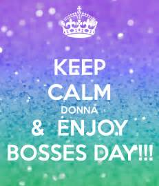 Keep Calm Bosses Day Image