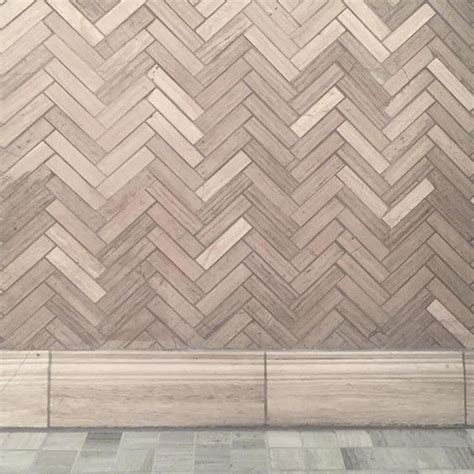 herringbone travertine tile design inspiration bathroom wall tile legno large herringbone travertine mosaic floor tile