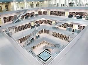 My Design Made In Germany : stuttgart 39 s refreshingly new modern library my modern met ~ Orissabook.com Haus und Dekorationen