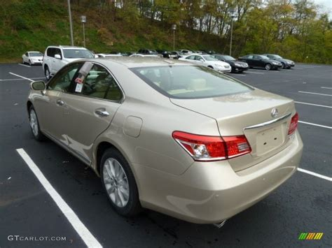 lexus satin cashmere metallic satin cashmere metallic 2012 lexus es 350 exterior photo