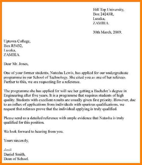 How To Write Recommendation Letter  Template Business