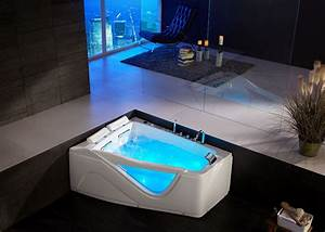 Baignoire Balneo 2 Personnes : baignoire baln o asym trique 2 places d neptune baignoire ~ Dailycaller-alerts.com Idées de Décoration