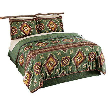 Aztec Comforter Set by Collections Etc Lake Tahoe Aztec Comforter Set