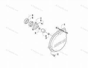 Arctic Cat Side By Side 2008 Oem Parts Diagram For Outer Magneto Cover Assembly