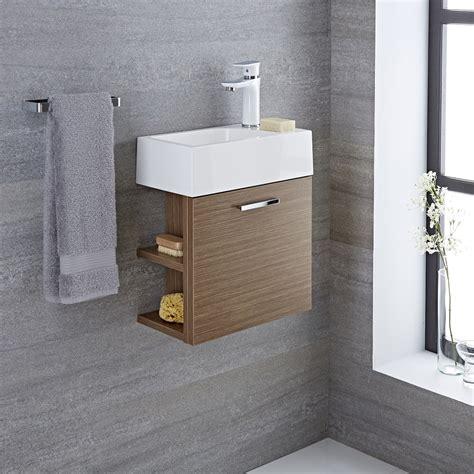 Waschtisch Für Gäste Wc Mit Unterschrank by Waschtisch F 252 R G 228 Ste Wc Mit Unterschrank Eiche 400mm