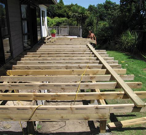 Deck Joist Spacing Nz by Adding A Deck Zones
