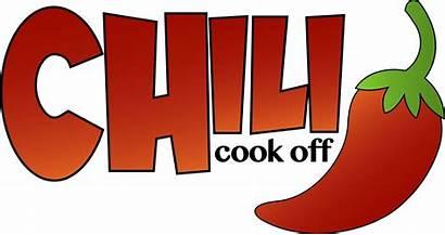 Chili Cook Cookoff Transparent Soup Registration Bulletin