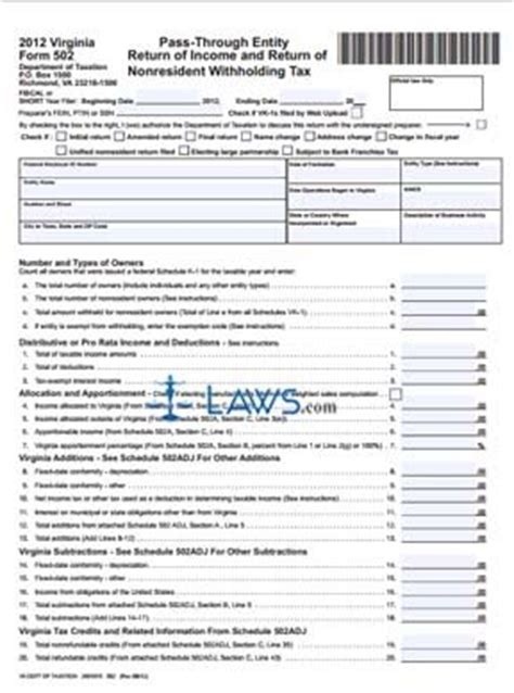 form  pass  entity return  income  return