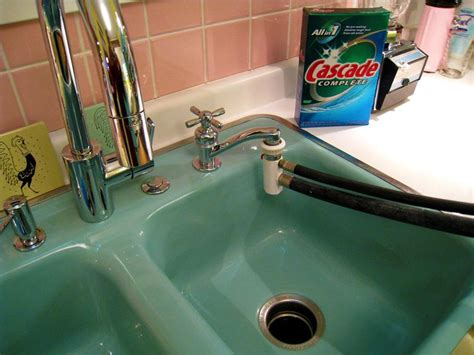 washer that hooks up to kitchen sink 16 best images about portable dishwasher on 9826