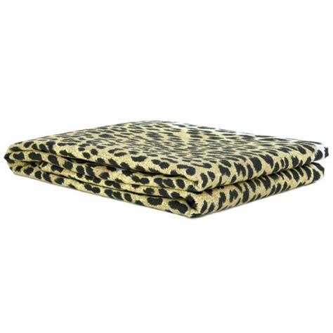copriletto leopardato telo copritutto copridivano copriletto grand foulard