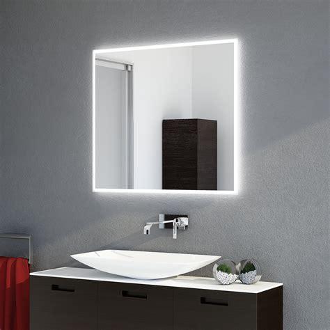 badspiegel led hinterleuchtet badspiegel frame 4s led satinierter led lichtrand