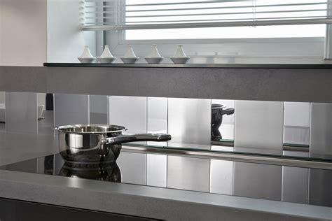 credence cuisine polycarbonate revger com plaque inox autocollante brico depot idée