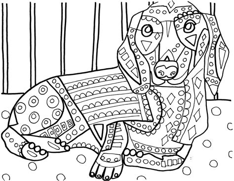 portuguese water dog coloring page  getcoloringscom  printable colorings pages  print