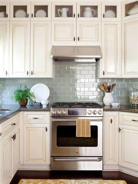 kitchens with 2 different color cabinets kitchen backsplash ideas better homes and gardens bhg com