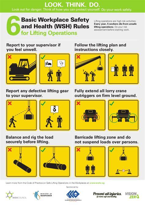 rules   safe liftingoperations