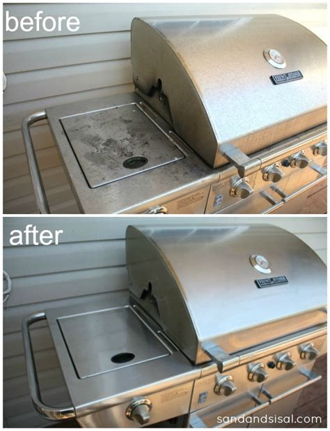 how to clean stainless steel grill gross to gorgeous best ways to clean stainless steel grills