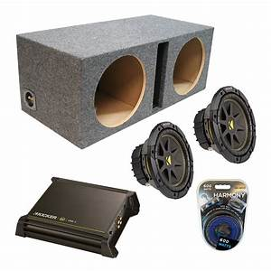 Kicker Car Speakers : kicker car stereo dual 10 comp c10 ported speaker ~ Jslefanu.com Haus und Dekorationen