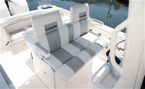 Boat Bench Seat Center Console by 295 Center Console Everglades Boats