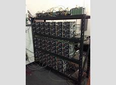 Our Antminer Setup 119 Terahashes Bitcoin