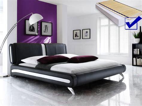 komplett bett 140x200 polsterbett schwarz komplett bett 140x200 lattenrost matratze malin single ebay