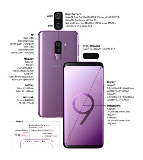 samsung galaxy s9 and s9 launched with variable aperture
