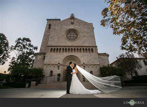 st monica catholic church wedding warren  sylvia