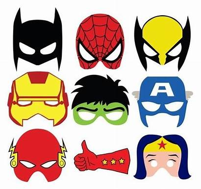 Masks Printable Halloween Quickie Last Minute Comic