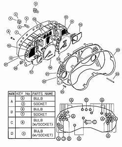 Dodge Avenger Gauge  Used For  Boost And Oil  Instrument  Cluster  Panel