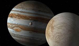 Europa Jupiter's Moon Up Close wallpapers