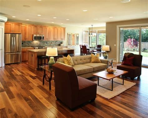 Open Floor Plan Home Design Ideas, Pictures, Remodel And Decor