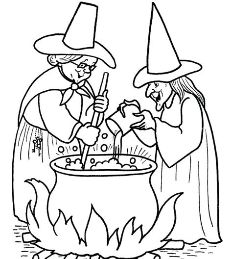 witch coloring pages printables  getcoloringscom
