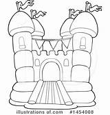 Bouncy Bounce Clipart Houses Illustration Visekart Royalty Illustrationsof sketch template