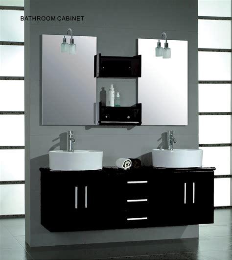 bathroom wall vanity cabinets cambridge 59 inch double wall mounted vanity set solid