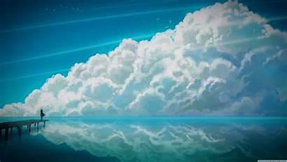 Ultra 4k Widescreen Anime Sky Desktop Wide